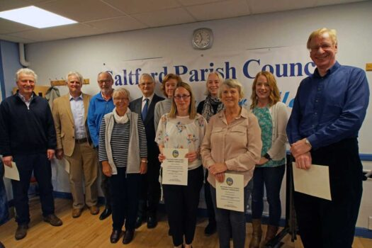 Community Award Ceremony - Saltford Parish Council