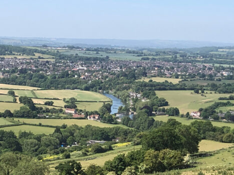 Aerial view of Saltford